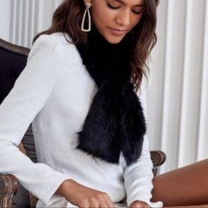 Faux fur stole from Rachel Zoe Box of Style